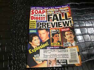 AUG 25 1998 - SOAP OPERA DIGEST vintage soap opera magazine