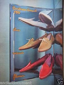 Vesuve Pau Gramont Schuhe Werbung Bordenave Werbung 1959 Fleuron Etna 4IYxqFx