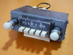 CLASSIC-CAR-AUDIO-SHAPHIRE-1-6-VOLTS-REFURBISH-Autoradio-KLASSIK-CAR-AUDIO