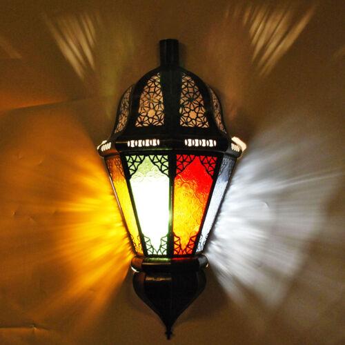 Oriental murale éclairage Marocaine Lampe Murale Abat-jour Balta Multi