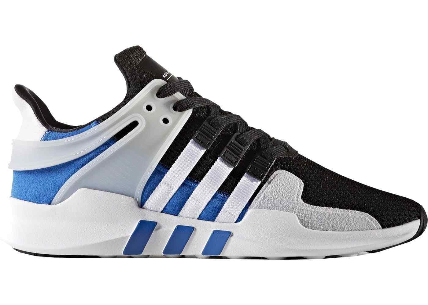 Adidas eqt unterstützung sind 10,5 weiß - blau größe 10,5 sind 2017 111991
