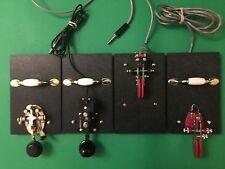 New Morse Code Telegraph Key 1ea Ez-Mount-BaseTM+Hardware@2.75Lbs