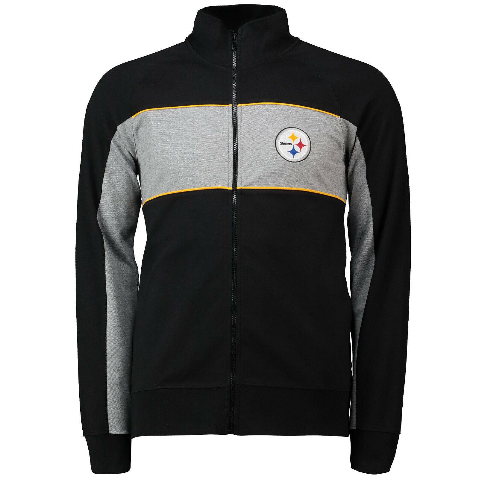 NFL Jacke Pittsburgh Steelers Cut and Sew Track Jacket Trainingsjacke Football