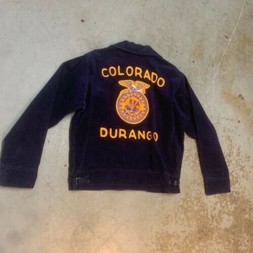 FLAWLESS Vintage FFA corduroy jacket Durango Color