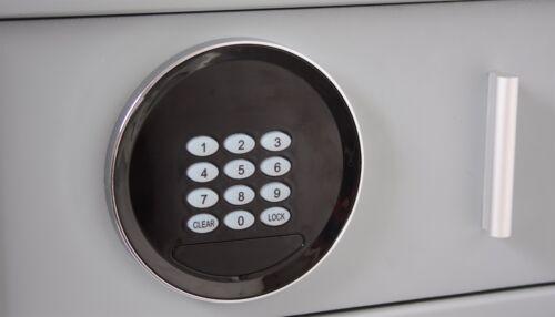 Key Lock Electronic Gas Strut Drawer Safes Euro Vault Safe