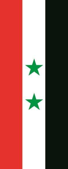 Fahne Flagge Flagge Flagge Syrien im Hochformat verschiedene Größen 8fb25d