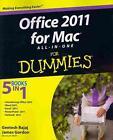 Office 2011 for Mac All-in-One For Dummies von Geetesh Bajaj und James Gordon (2011, Taschenbuch)