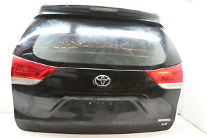 2012-TOYOTA-SIENNA-TRUNK-REAR-HATCH-DOOR-BLACK-202-OEM-11-13-14-15-16-17-18-19