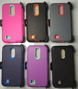 designer fashion d3bcc 332f8 Details about For LG Aristo 3 / Aristo 2 / Fortune 2 / Rebel 4 (CLIP FITS  OTTERBOX DEFENDER)