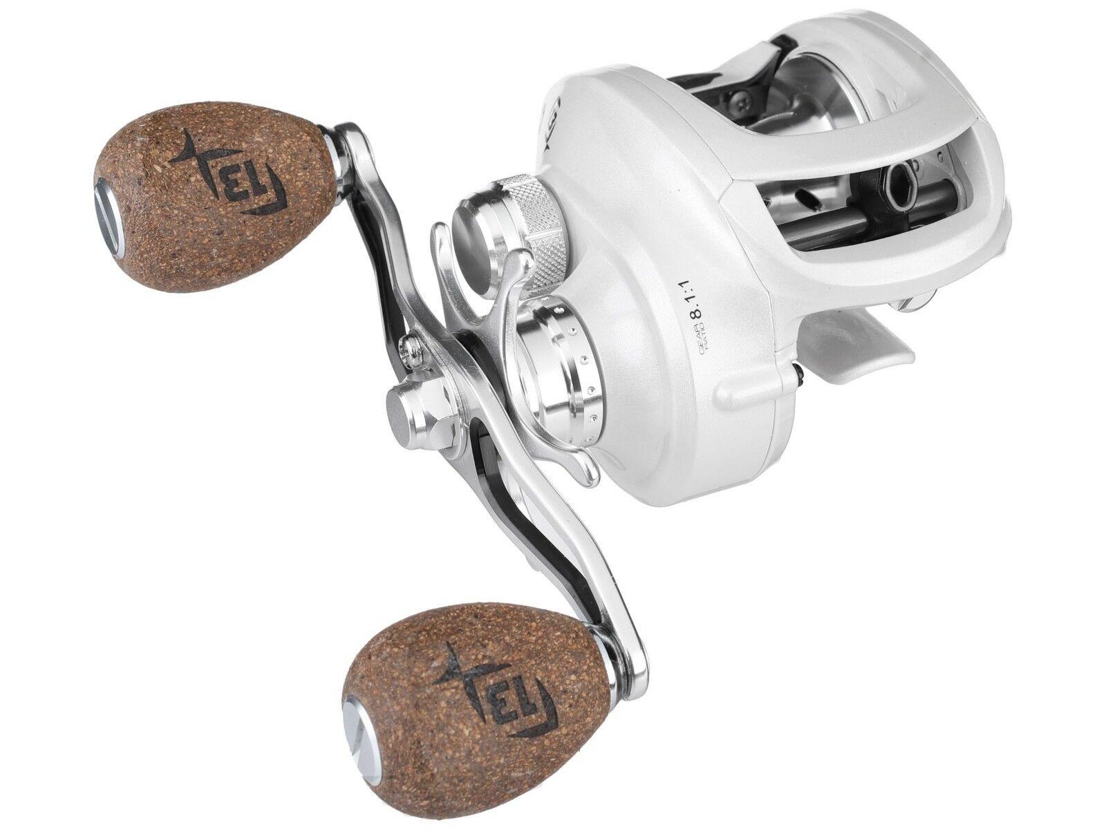 13 Fishing Concept C - Ultra-Light (6.2 oz) Bass Baitcasting Fishing Reel