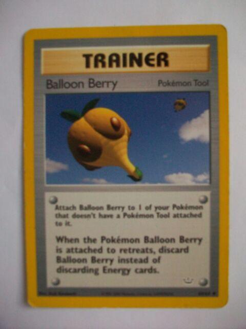 pokemon trainer card - Balloon Berry - 1995 - 2000 Nintendo 60/64