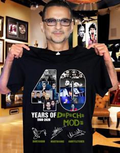 40-Years-Of-Depeche-Mode-Tee-Shirt-Size-S-5XL
