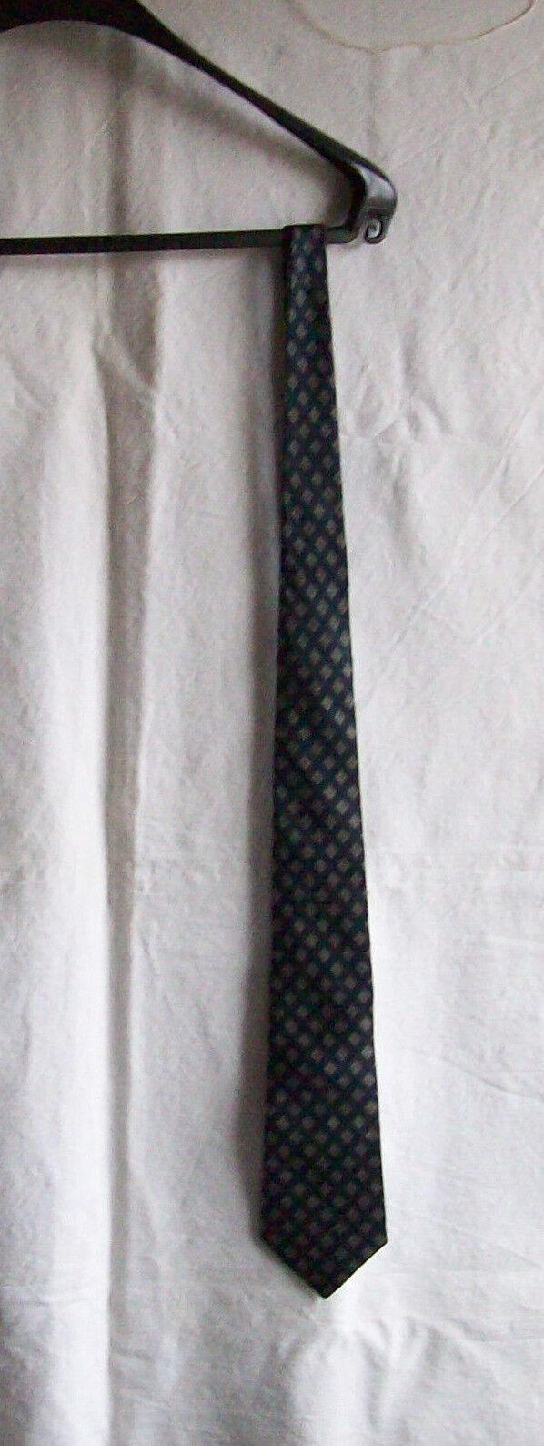 Mens Tie, schlipps, Binder, Hernry Morell, Pure Silk, 140 cm x 3,5 - 9 cm,