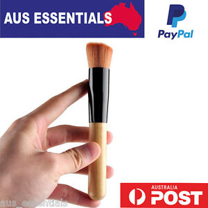 New-AU-Synthetic-Universal-Angled-Flat-Top-Buffer-Face-Liquid-Foundation-Brush