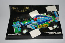 Minichamps F1 1/43 Benetton Ford B194 Johnny Herbert 2222 un.