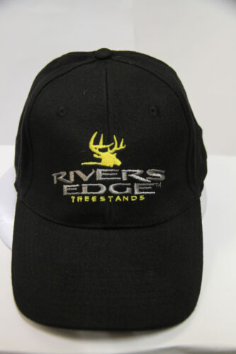 2477 RIVERS EDGE WITH BLACK AND YELLOW LOGO BASEBALL CAP