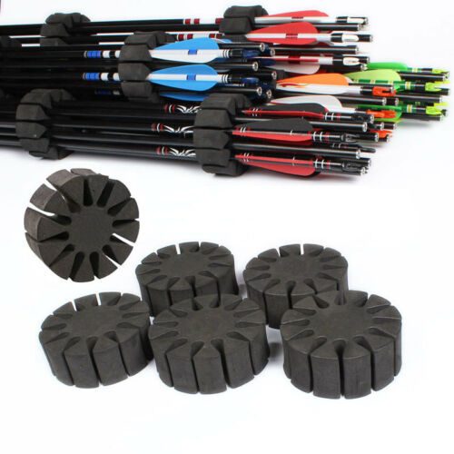 12 Arrows Separator Quiver ep 6PCS Archery EVA Foam Round Rack Arrow Holder