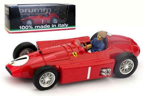 garantía de crédito Brumm r076-ch Ferrari D50 1956 1956 1956 Campeón Mundial De J M Fangio 1 43 Con Figura del conductor  venta de ofertas