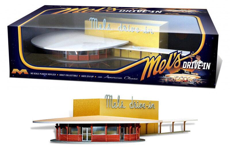 Mel 's drive in pronto modellololo 1 87 h0 modello KIT Moebius 2935 Mels American Diner