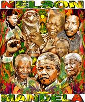 Nelson Mandela Tribute T-shirt Or Print By Ed Seeman