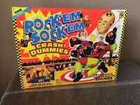 Vintage 1992 Crash Dummies Tyco Rock'em Sock'em Rare Opened Box