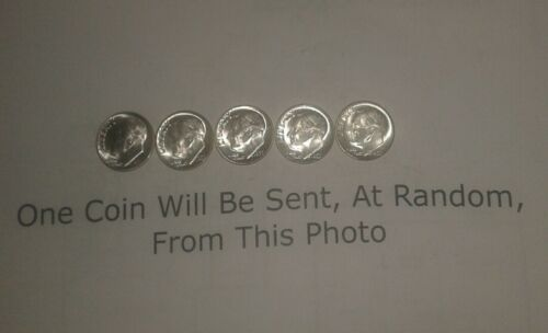 One 1955 P Roosevelt Silver Dime 1 Coin From Photo fast safe combo ship Better!
