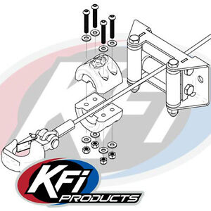 Kfi Winch Split Cable Hook Stopper ATV-SCHS