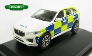 BNIB-OO-GAUGE-OXFORD-1-76-76JFP004-Jaguar-F-Pace-Police-Car