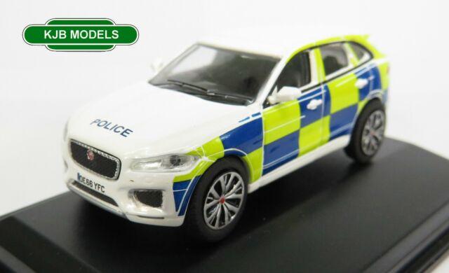 BNIB OO GAUGE OXFORD 1:76 76JFP004 Jaguar F Pace Police Car
