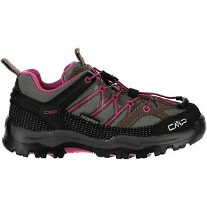 Cmp Trekking Chaussures Outdoorschuh Kids Rigel Low Trekking Shoes Wp Brun Unicolore-afficher Le Titre D'origine Les Clients D'Abord