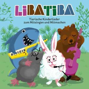 Libatiba-Tierische-Kinderlieder-zum-Mitsingen-CD-NEU-OVP