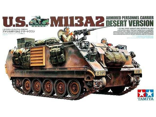 Tamiya 35265 1 35 US M113A2 Armored Personnel Carrier Model