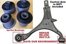 4pcSet fits Front Lower Control Arm Bushings 02 03 04 05 06 Honda CRV Acura RSX