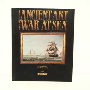The-Ancient-Art-Of-War-At-Sea-Broderband-Apple-II-Computer-Game-1989-Manual-Only