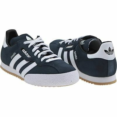Herren adidas Originals Samba Super Wildleder Blau Retro
