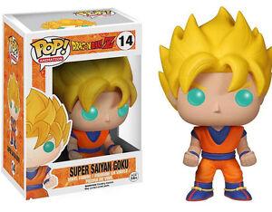 Super Saiyan Goku Dragonball Z POP! Animation #14 Vinyl Figur Funko