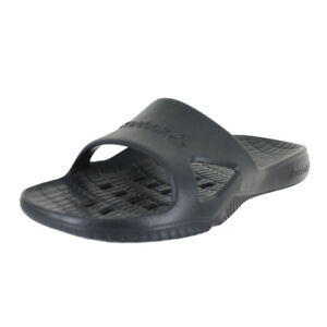 24128e4842edcd Image is loading REEBOK-KOBO-H2OUT-SLIDE-BLACK-V70357-MENS-US-