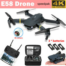 Drone X Pro WIFI FPV 1080P HD Camera 3 Batteries Foldable Selfie RC Quadcopter`