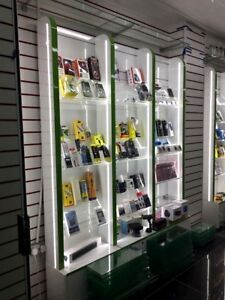 MOBILE PHONE DISPLAY COUNTER KIOSK RMU UNIT MOBILE PHONE ACCESSORIES STAND - SALFORD, Greater Manchester, United Kingdom - MOBILE PHONE DISPLAY COUNTER KIOSK RMU UNIT MOBILE PHONE ACCESSORIES STAND - SALFORD, Greater Manchester, United Kingdom