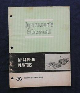 597ms-Massey-Ferguson-Mf-44-amp-Mf-46-Maceta-Operarios-Duenos-Manual-Muy-Bueno
