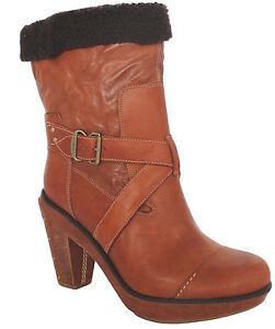 Bottes 25679 de enfiler U110 Wood Marge en femmes Mid cuir Boot Co à pour Timberland rrBYqpO