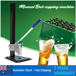 Table-Capper-Bench-Capping-Tool-For-Home-Brewery-Brew-Beer-Bottle-Capper-AU-SHIP