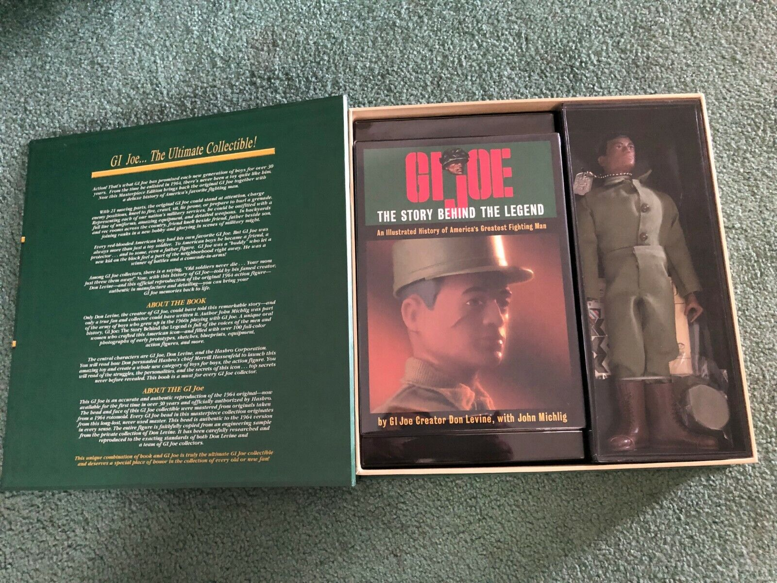 1996 GI JOE ACTION SOLDIER AFRICAN AMERICAN MASTERPIECE EDITION VOL. I NEW