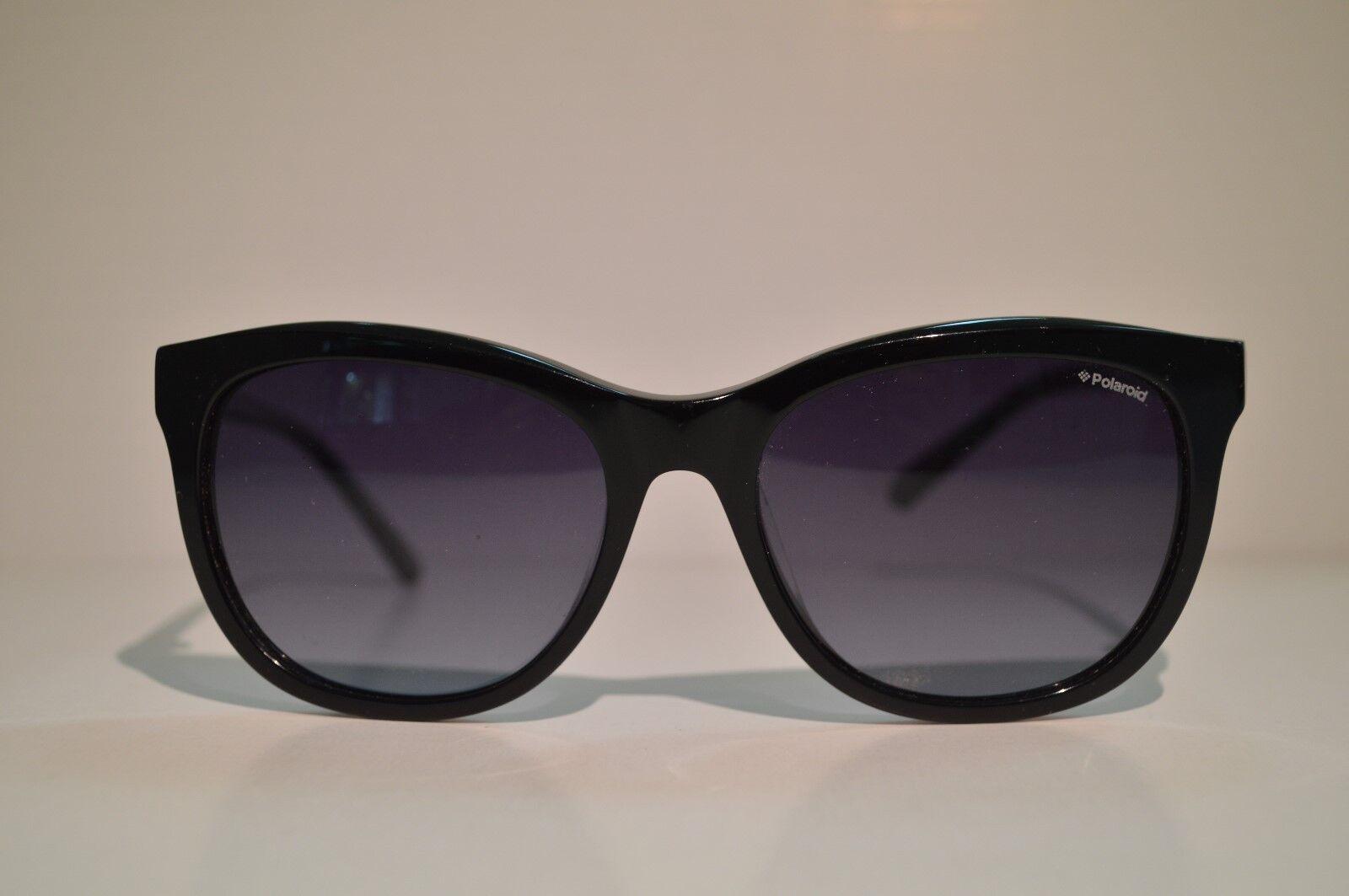 89db0f8546c Authentic Women's Polaroid Black Sunglasses PLD 4004/s 807 for sale ...