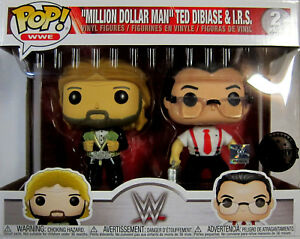 & I.r.s Funko Pop! Limited Wwe Ted Dibiase 2 Pack million Dollar Man