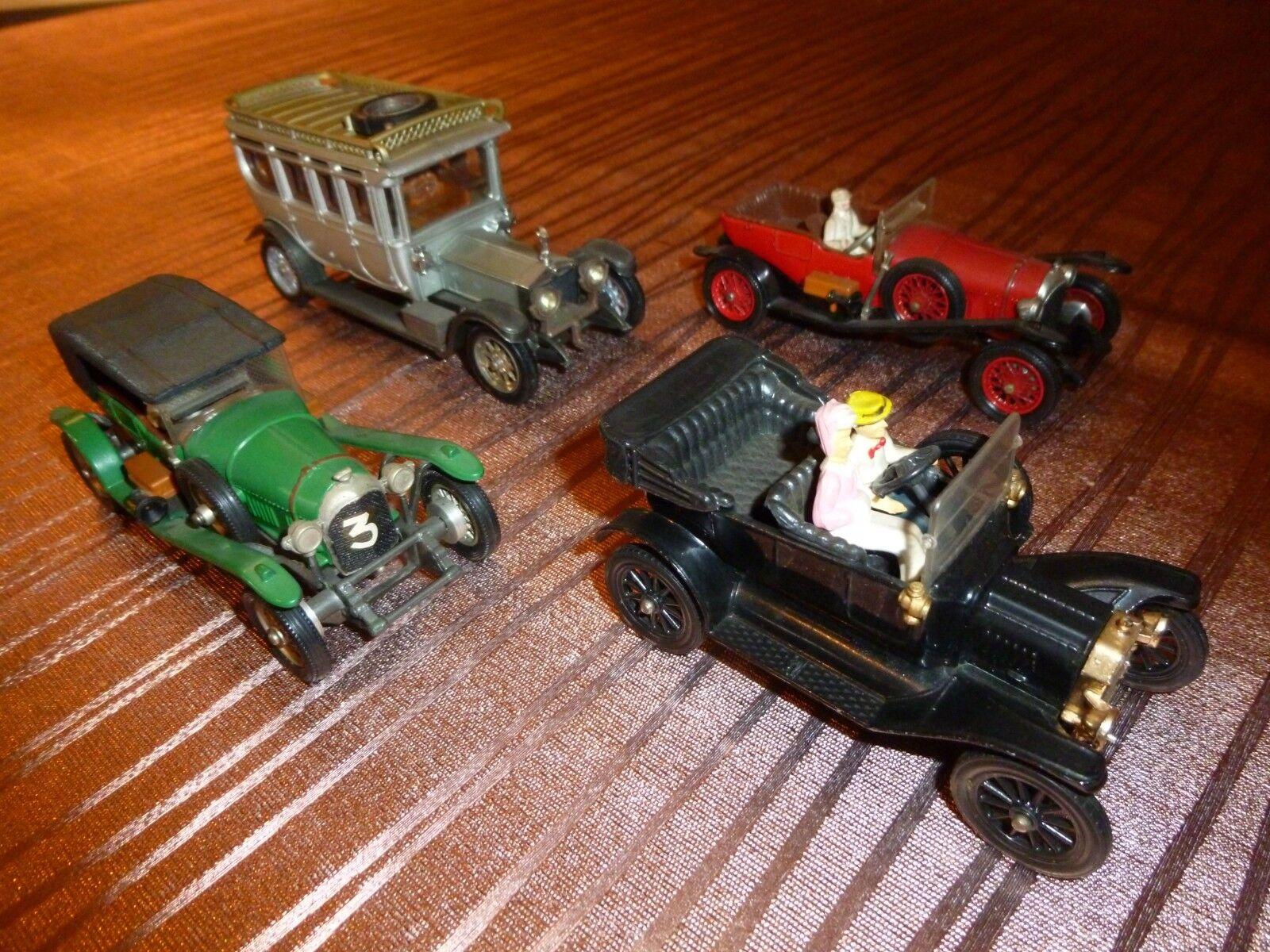 grandes ofertas Lot 4 voitures voitures voitures miniatures CORGI Classics Made in Gt BRITAIN an 70  ganancia cero