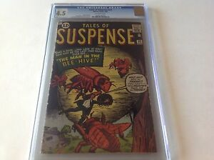 TALES-OF-SUSPENSE-32-CGC-4-5-ANT-MAN-BEE-MAN-TEST-DR-STRANGE-PROTO-MARVEL-COMICS