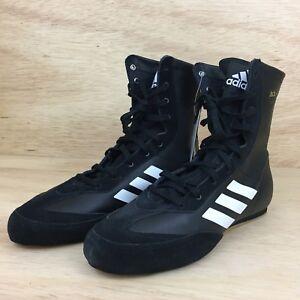 Details about Adidas Box Hog x Special Men's Shoes SZ 8.5 BlackWhite New Boxing Shoes