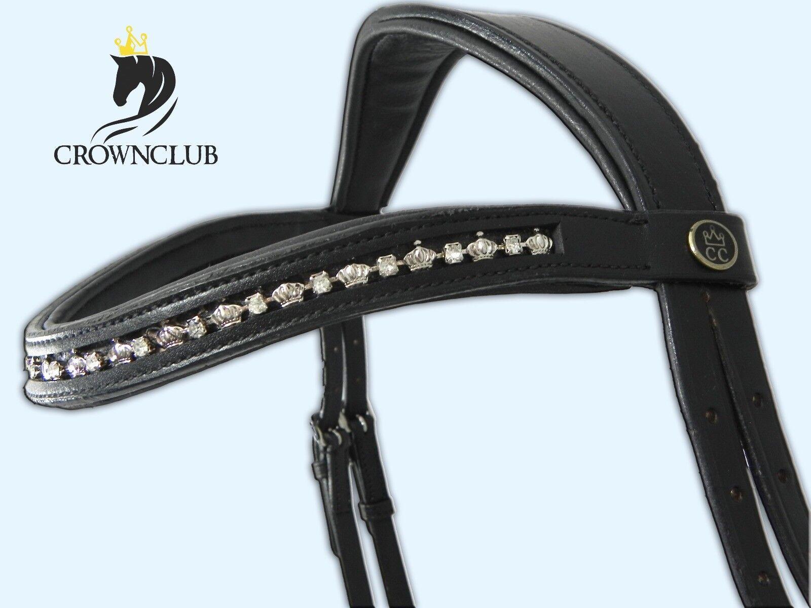Trense Trensenzaum Trensen-Zaum Pony, VB, WB Krönchen von CrownClub