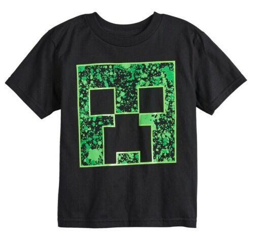Minecraft Kletterpflanze Mojang Jinx Leuchtet Im Dunkeln T-Shirt Boys Eu